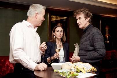 Pat Joyce,  Jennifer Joyce and Guy Diamond