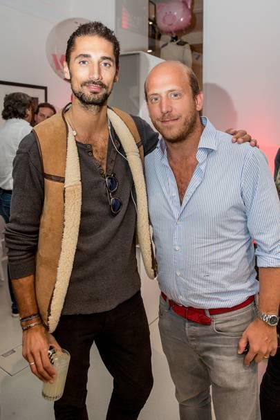Hugo Taylor and Carlo Carello