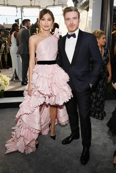 Gemma Chan and Richard Madden