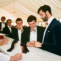 Cyrus Danesh, Josh Hopkins, Gus Giddins, Charlie Mingay and Ed Walton