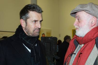 Rupert Everett and Anthony Paige