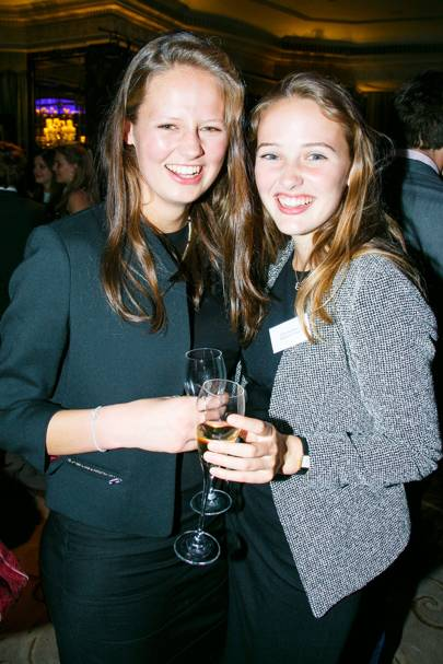 Isabella Soames and Charlotte Haney