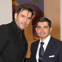 Roland Mouret and Francis Sultana