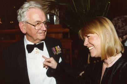 Derek Fenton and Mrs Nicholas Barley