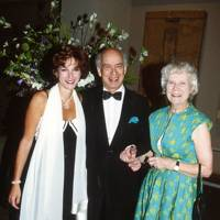 Mrs Manu Duggal, Sir Claus Moser and Lady Moser