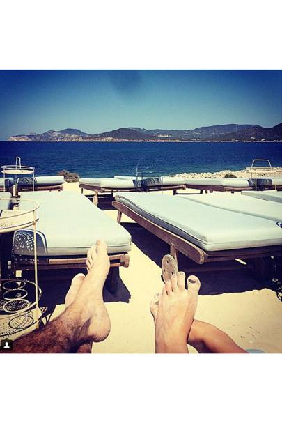 Bet you wish those sun-loungers were occupied, Spencer Matthews? (2015)