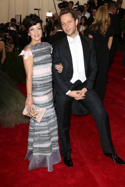 Lily Allen and Derek Blasberg