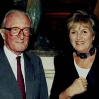 Lord Carrington and Mrs Michael Heseltine