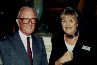 Lord Carrington and Mrs Michael Heseltine