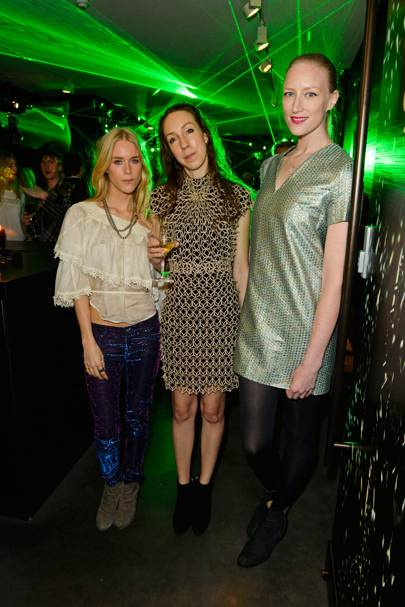 Mary Charteris, Iris Van Herpen and Jade Parfitt