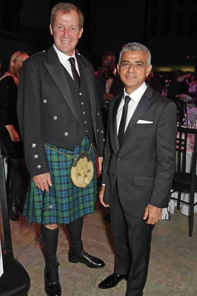 Alastair Campbell and Sadiq Khan