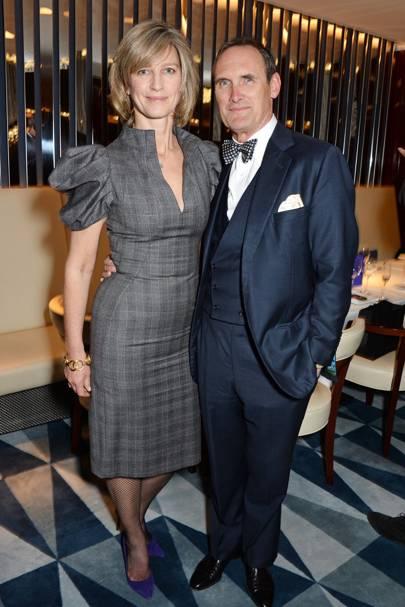 Nicola Formby and AA Gill