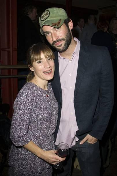 Charlotte Randle and Tom Ellis