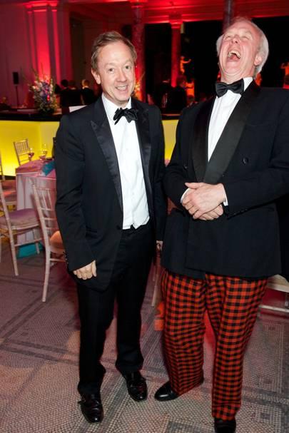 Geordie Greig and Louis Greig