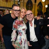 Stefano Gabbana, Helen David and Domenico Dolce