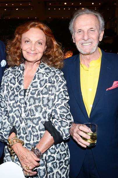 Mark Shand and Diane Von Furstenburg