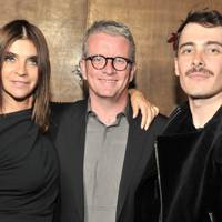Carine Roitfeld, David Lamb and Fabien Constant