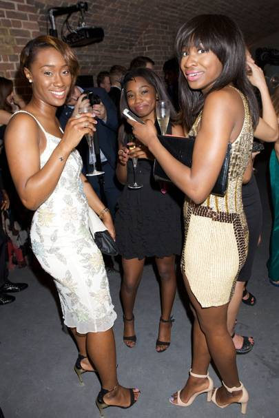 Sade Bhadmus, Ibiyinka Akinnola and Jamila Danjuma