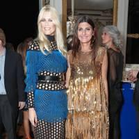 Claudia Schiffer and Giovanna Battaglia