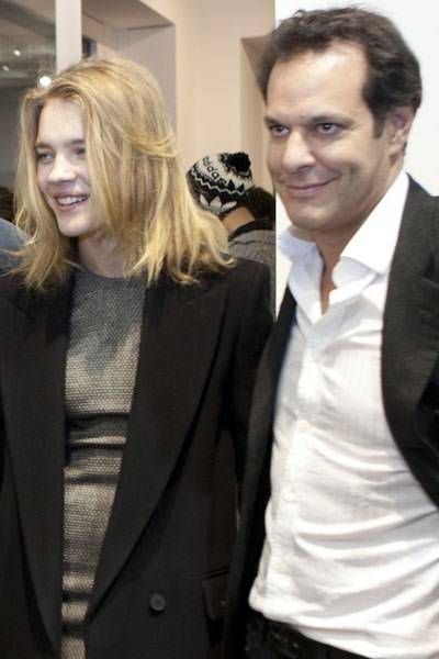 Natalia Vodianova and Brent Hoberman