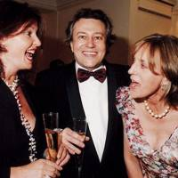 Mrs Maurice Slevin, Dr Maurice Slevin and Melissa Wyndham