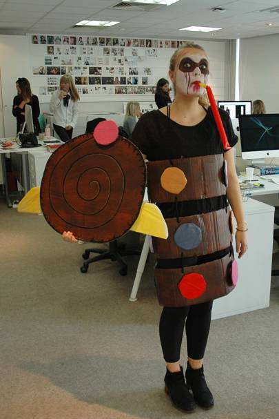 Ella Baldwin as cut up Colin the Caterpillar