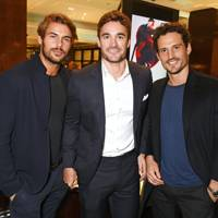 Jacey Elthalion, Thom Evans and Sam Webb