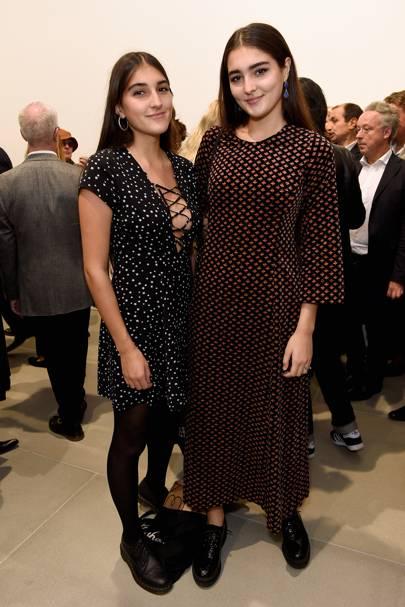 Lauren Mills and Maddie Mills