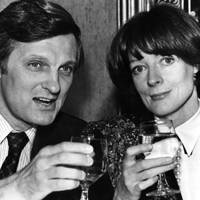 Alan Alda and Dame Maggie Smith