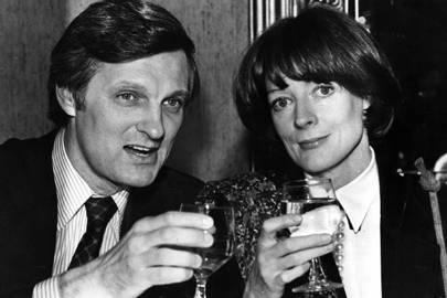 Alan Alda and Dame Maggie Smith