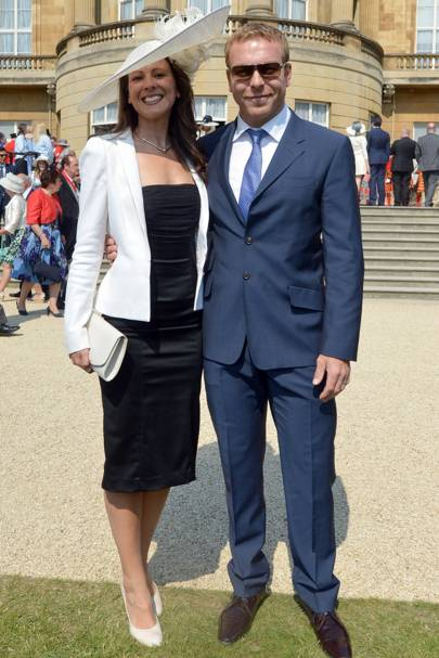 Sarra Kemp and Sir Chris Hoy