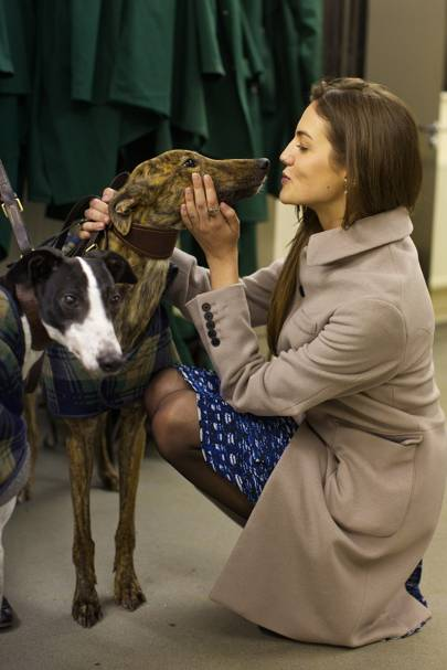 Kirsty Davies with Rufford Atom and Ribble Atom