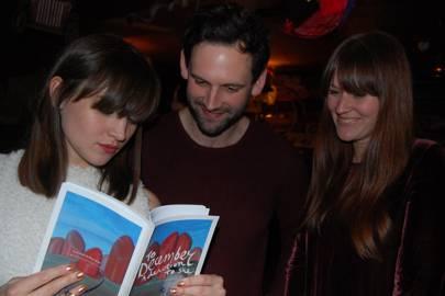 Ella hart, Luke Courtier and Kristina Golightly