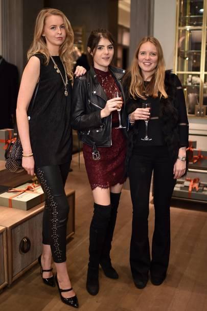 Coco Strunck, Lexi Abrams and Arabella Holland