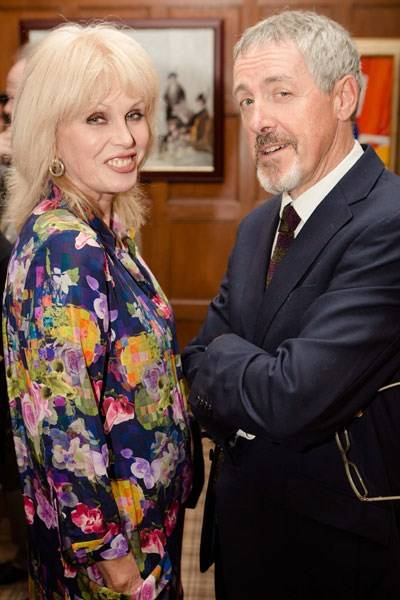 Joanna Lumley and Griff Rhys Jones