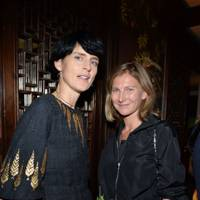 Stella Tennant and Elizabeth Von Guttman