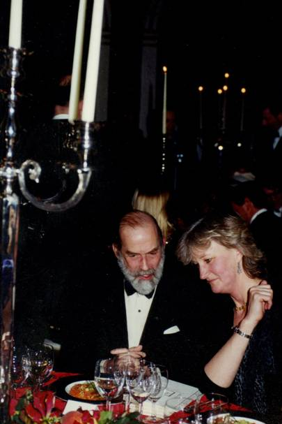 Prince Michael of Kent and Baroness Piers von Westenholz