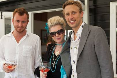 Francis Boulle, Sam Wylie-Harris and George Frost