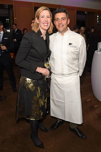 Clare Smyth and Jean-Philippe Blondet