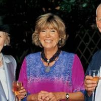 Pat More O'Ferrall, Madam FitzGerald and Sir Mark Palmer