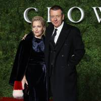 Gillian Anderson and Peter Morgan