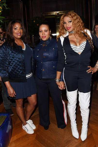 Salt-N-Pepa: Cheryl James, Sandra Denton and Deidra Roper