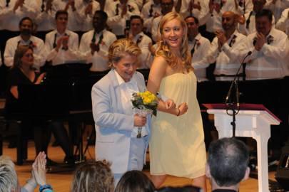 Sandi Toksvig and Megan Toksvig