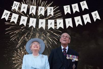 The queen and prince philip th wedding anniversary plans