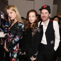 Flora Ogilvy, Olivia Grant and Philip Colbert