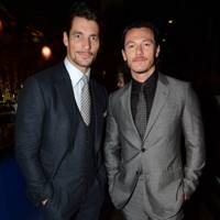 David Gandy and Luke Evans