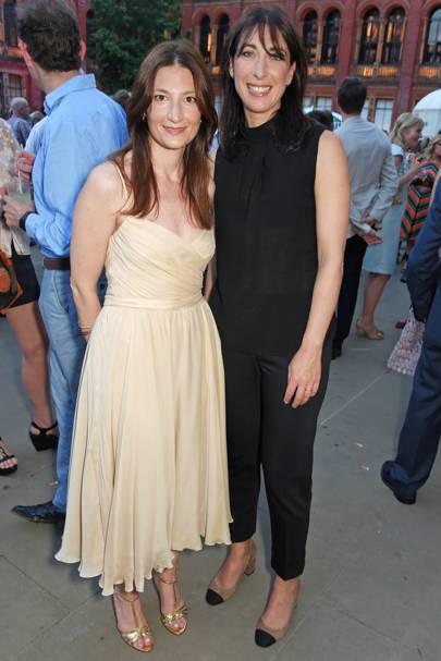 Maria Milano and Samantha Cameron