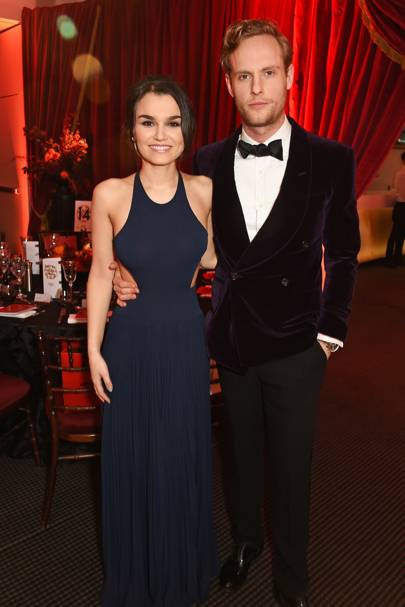 Samantha Barks and Jack Fox