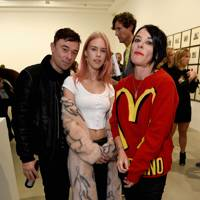 Robbie Furze, Mary Charteris and Sue Webster
