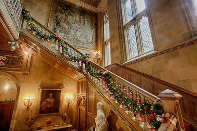 The staircase at Highclere